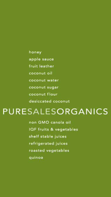 Pure Sales: Organic Food Solutions